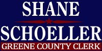 Shane Schoeller for Greene County Clerk